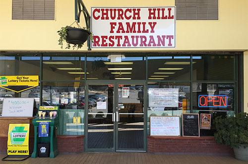 John's Church Hill Family Restaurant